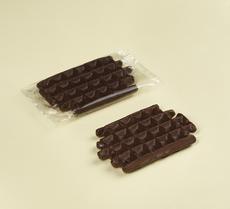 Shokolade vanille waffel, 90g