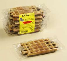 Half chocolate vanilla waffle, 80g